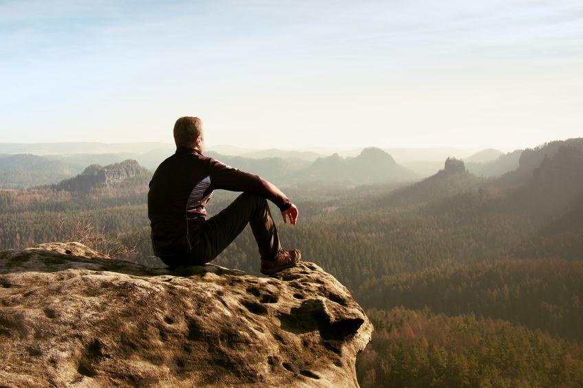 """下山するな!山で遭難したときは""""頂上""""を目指せ。という雑学まとめ"""