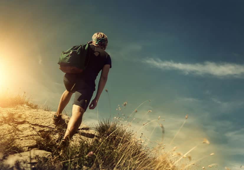 頂上を目指したほうが発見されやすいというトリビア