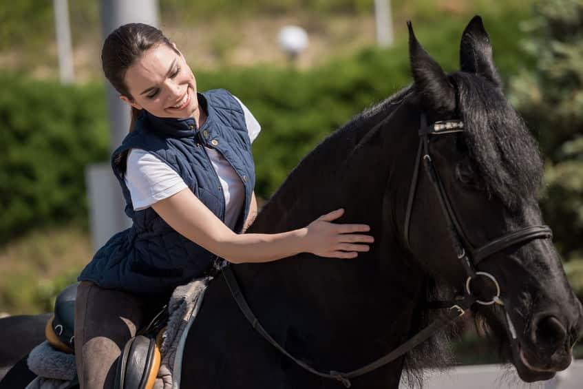 乗馬競技では人馬がいかに一体となるかが試されるというトリビア