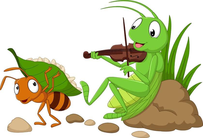 ソップ童話「アリとキリギリス」のキリギリスはもともとセミだったという雑学