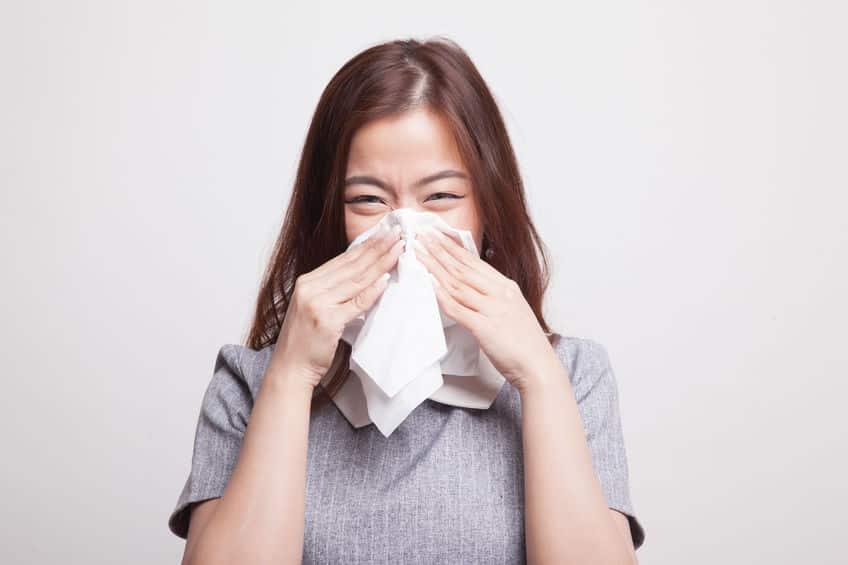 ラーメンを食べるときに鼻水が出る理由に関する雑学