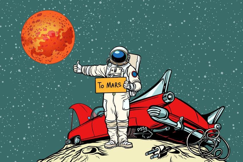 """赤い色の秘密は酸化鉄!火星の表面は""""錆びた鉄""""と同じ成分についての雑学まとめ"""