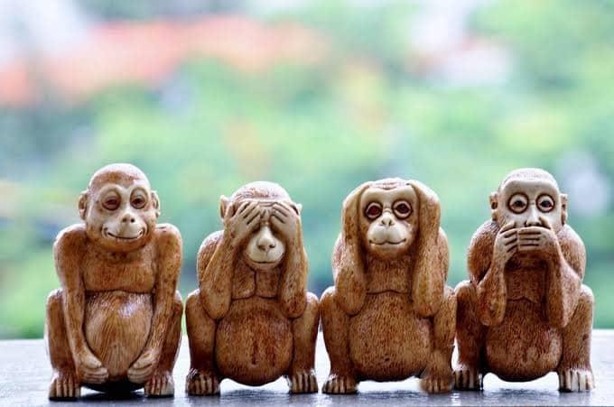 三猿は実は四猿だったというトリビア