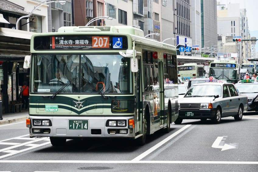 路線バスの行き先表示板にSOSと表示されることがあるという雑学