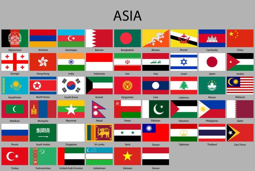 アジアとオーストラリアの雑学まとめ