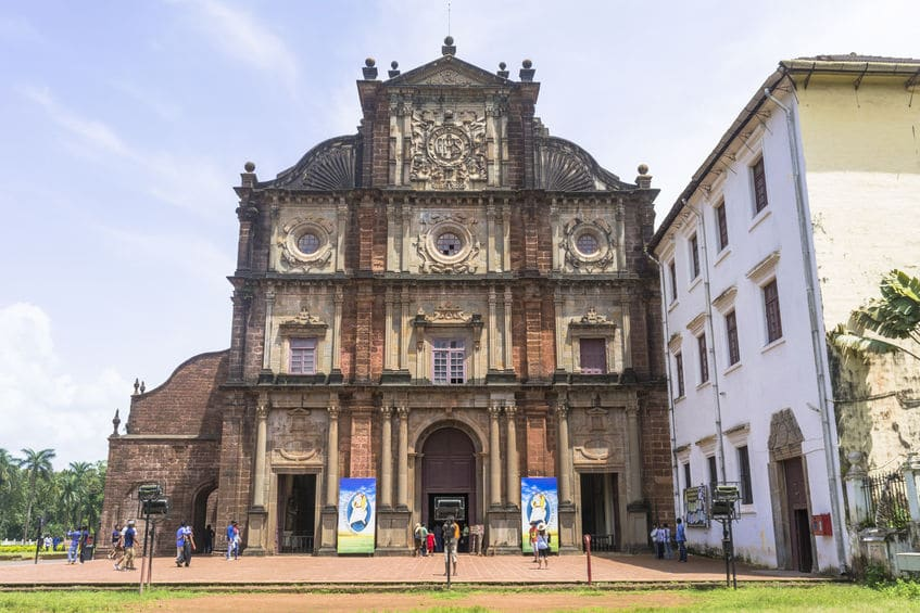フランシスコ・ザビエルの遺体はインド・ゴアにあるボム・ジーザス教会にあるというトリビア