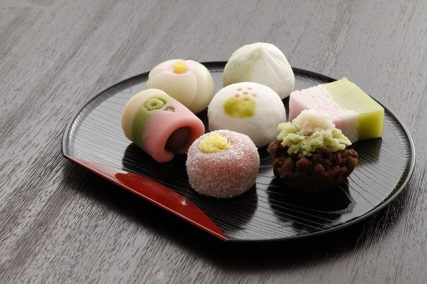 和菓子にはわざわざ「米粉」とは書かないから気付かないというトリビア
