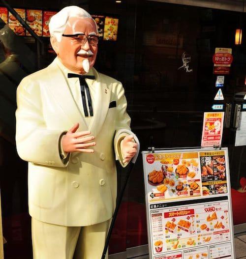 日本のケンタッキーでカーネルおじさんが採用された理由に関する雑学