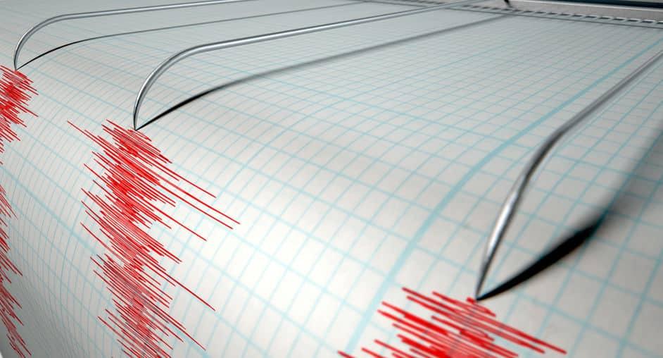世界の地震回数が発表されているというトリビア
