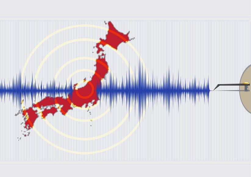 地震の10%が日本で起きている!というトリビア
