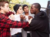 喧嘩の現場に加担したりヤジをとばしたりするのは犯罪という雑学