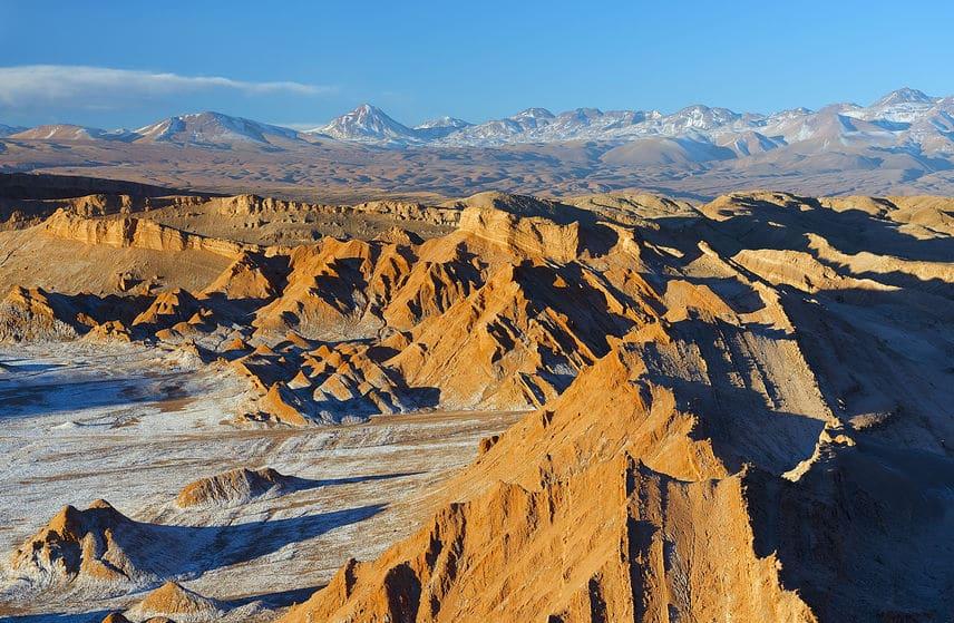 乾燥の理由はアンデス山脈についてのトリビア
