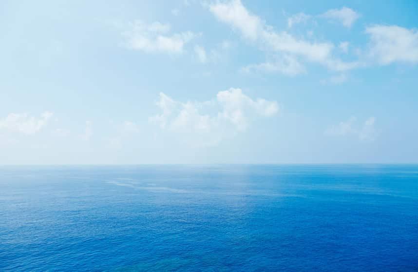 46億年ほど前にできた海は、塩分が溶けているから塩辛いというトリビア