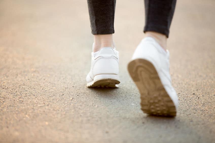 靴と歩き方が大きな要因についてのトリビア
