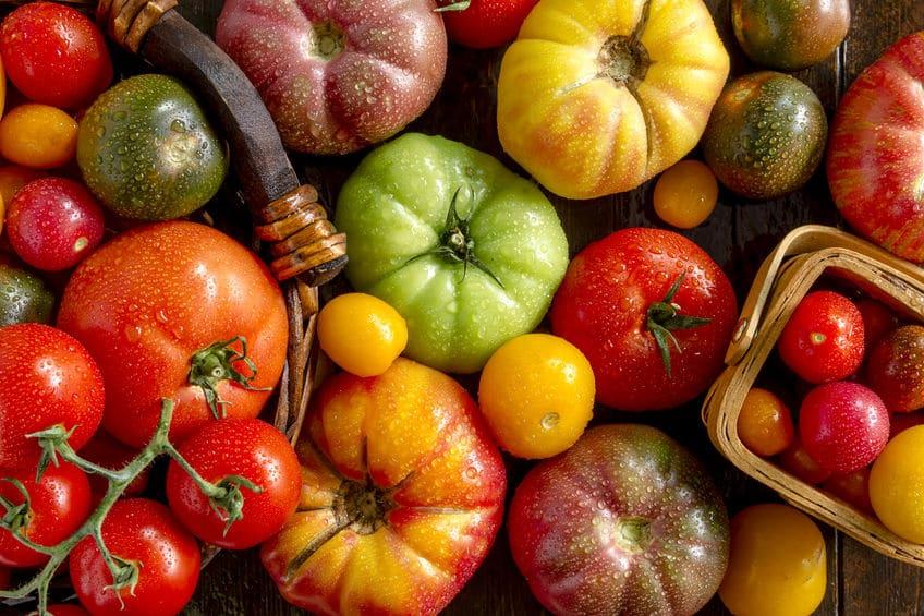 百貨店のトマトコーナーはいまや高級食材についてのトリビア