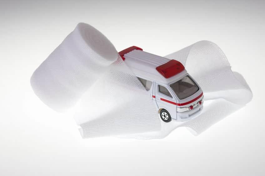 救急車と交通事故を起こしたら、過失割合は7:3になるというトリビア