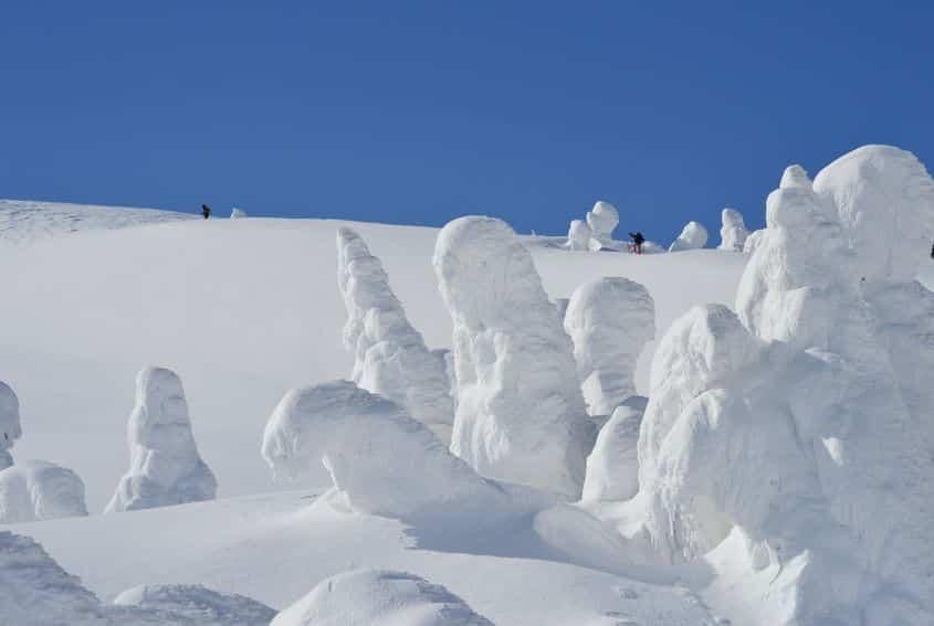 山形県では冬になると「スノーモンスター」が現れるという雑学
