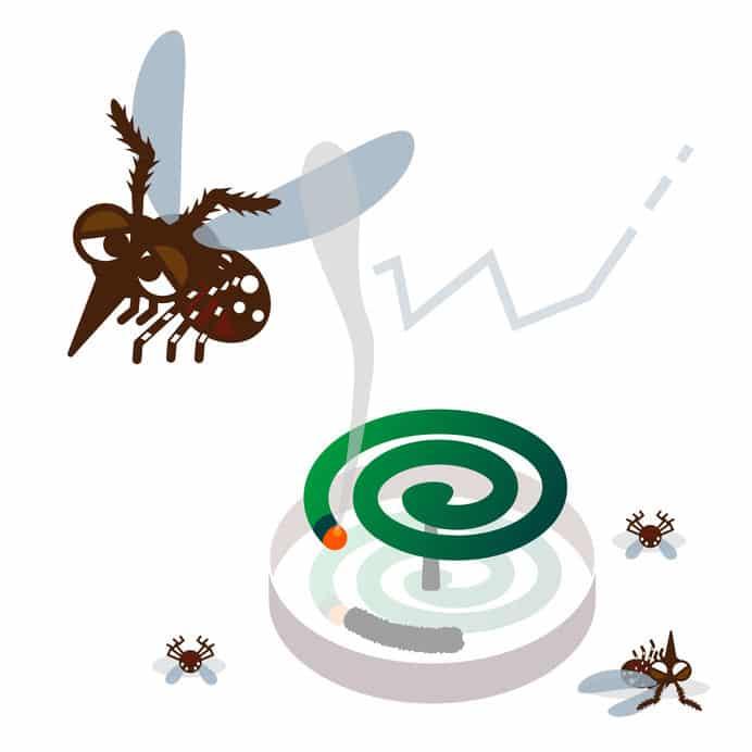 ピレスロイドは虫にとってのフグ毒についてのトリビア