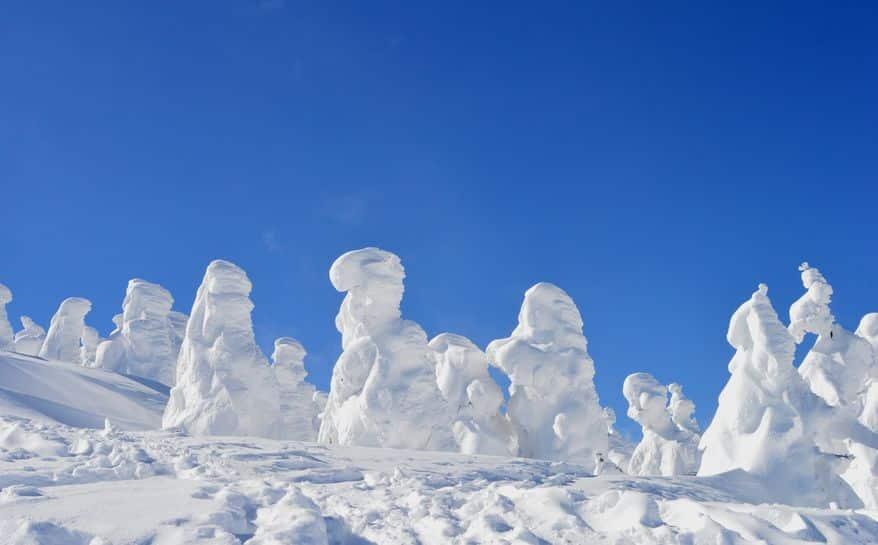 """雪の怪物!?山形県では冬に""""スノーモンスター""""が現れる【動画あり】についてのトリビアまとめ"""
