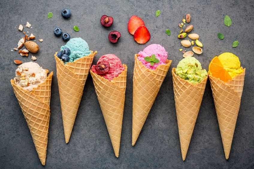 ソフトクリームなどのコーンもウエハースと同じ役割がある!というトリビア