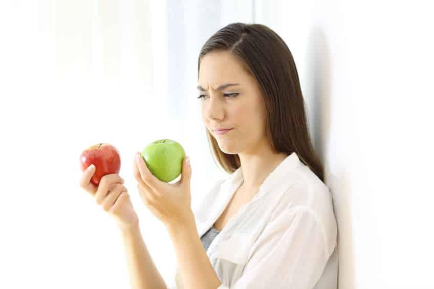 食べ物の違いに関する雑学まとめ