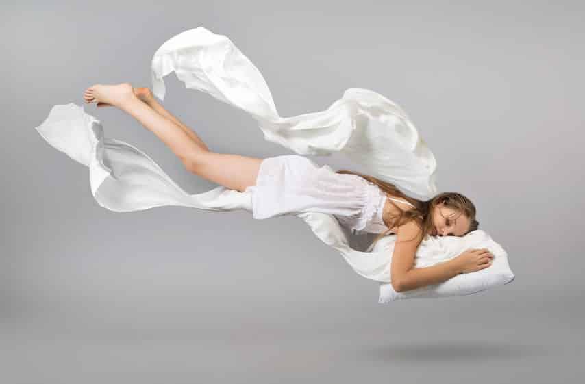 ノンレム睡眠中でも夢を見るというトリビア
