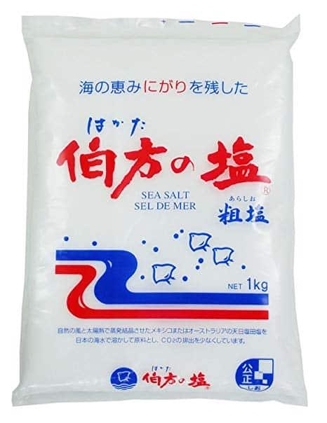 伯方の塩の原料に関する雑学