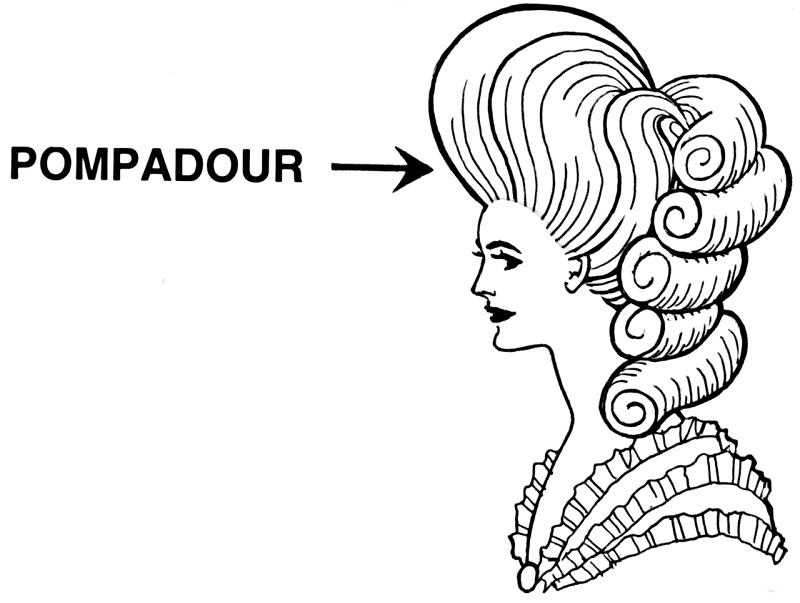 ポンパドールについてのトリビア