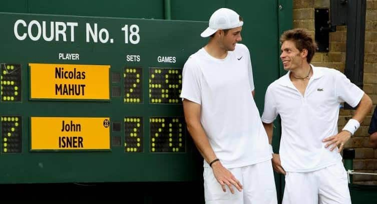 男子プロテニス選手の史上最長試合は11時間5分についてのトリビア