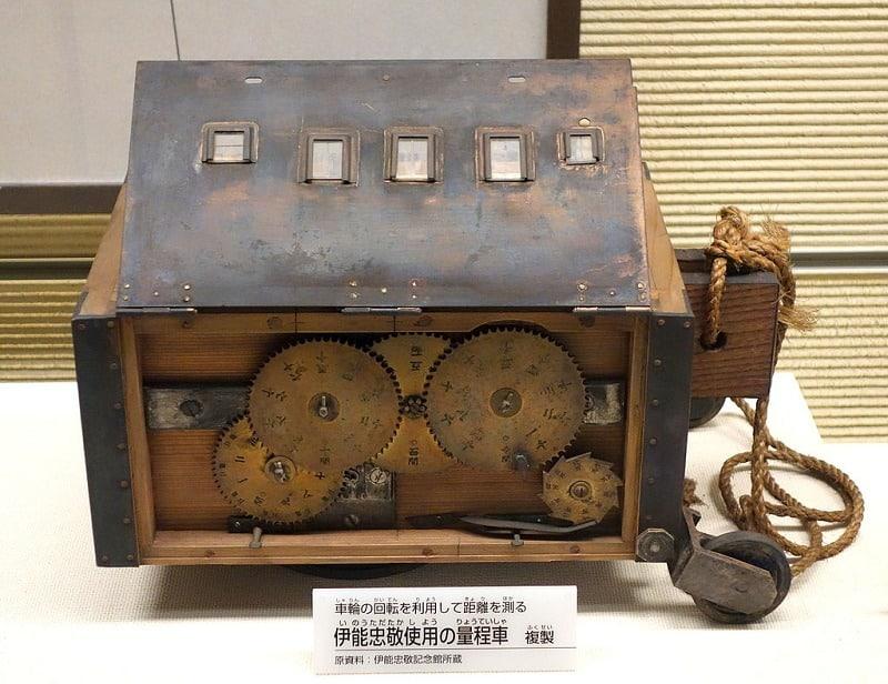 伊能忠敬が使用した測量器具は国宝に指定されているというトリビア