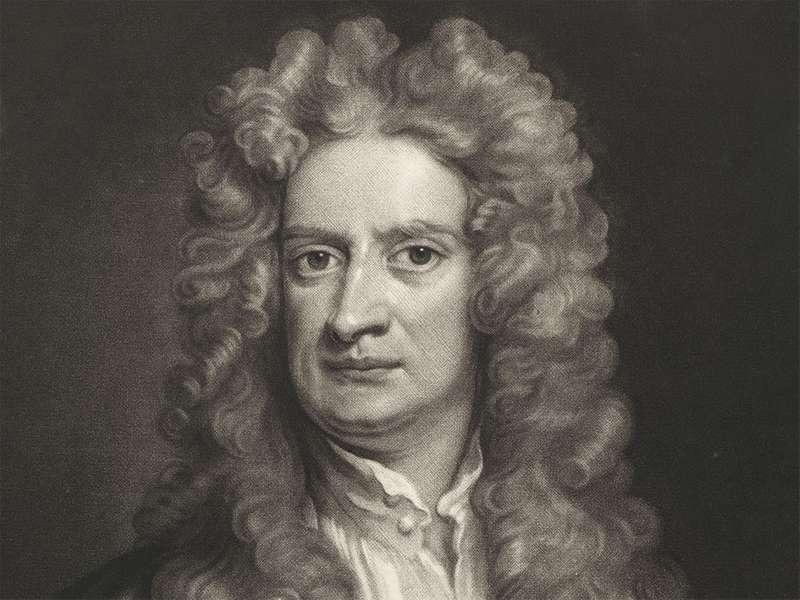 万有引力のニュートンが提唱した!というトリビア