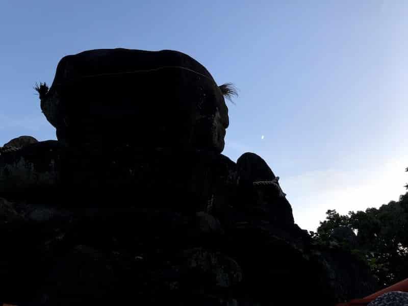 伏見稲荷大社の千本鳥居の一ノ峰を撮影