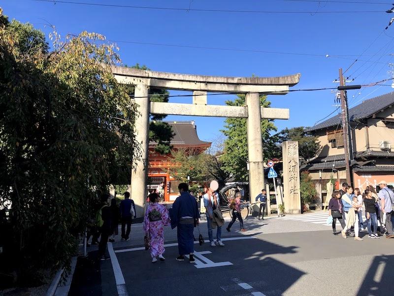 八坂神社の正門