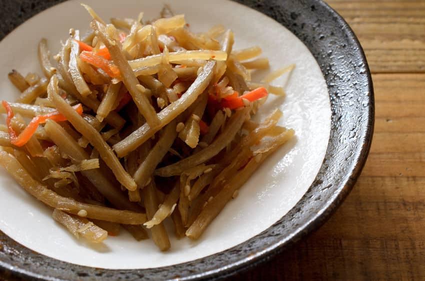 きんぴらごぼうは江戸時代の人気料理!というトリビア