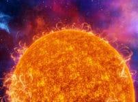 太陽は燃えているわけではなく爆発しているという雑学