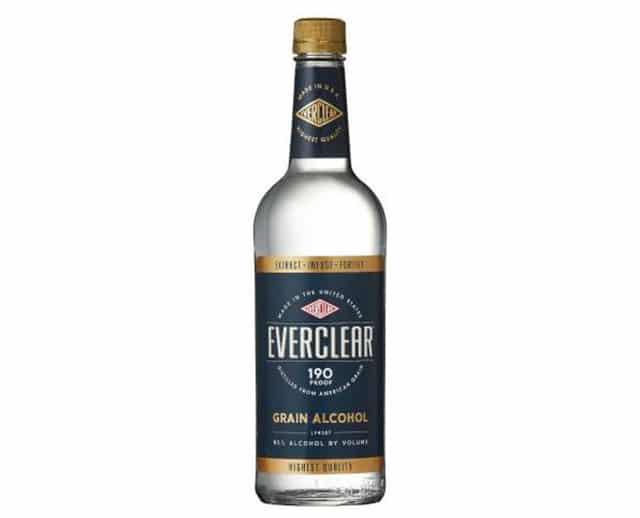 アルコール度数の高い酒2位:エバークリア