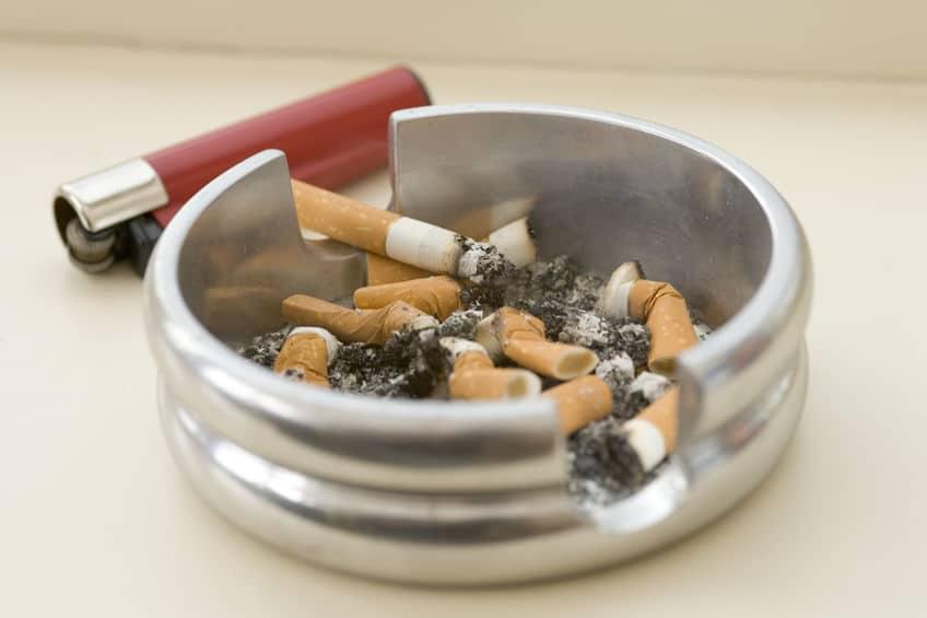 吸引式トイレにタバコを捨てられると火災に繋がる可能性がるというトリビア