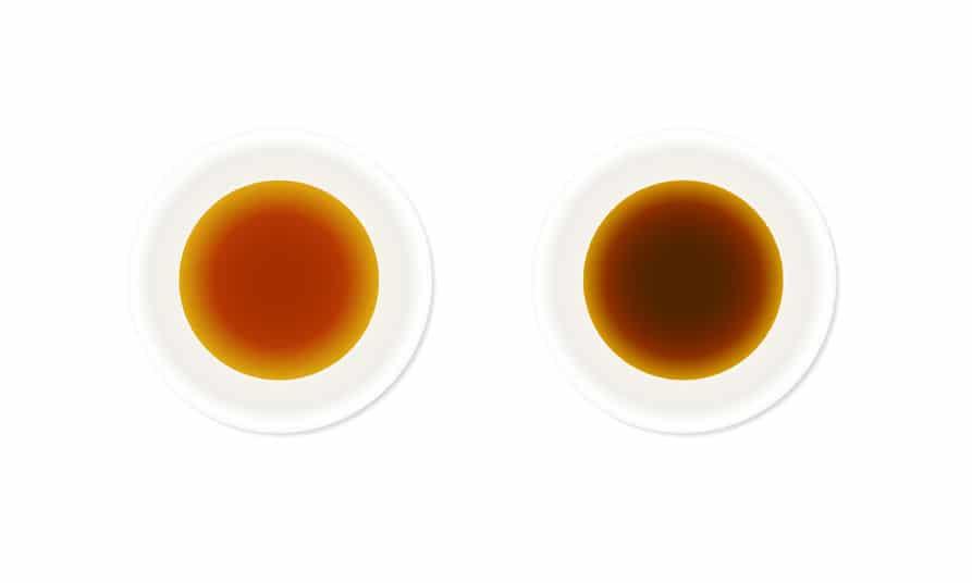 薄口醤油の薄口は「色が薄い」の意味というトリビア