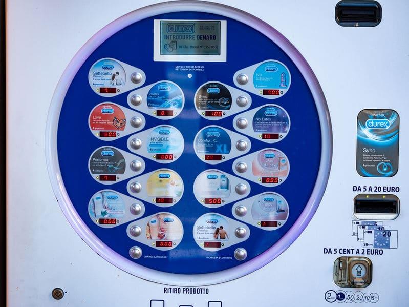 日本の「自販機コンドーム」に関する雑学
