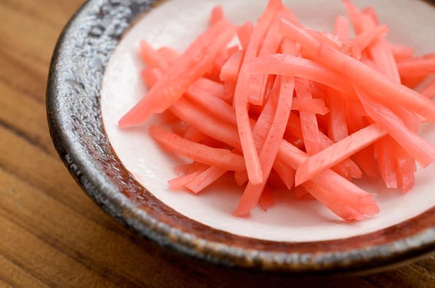 紅生姜は牛丼の欠点をすべて補う女房役!についてのトリビア