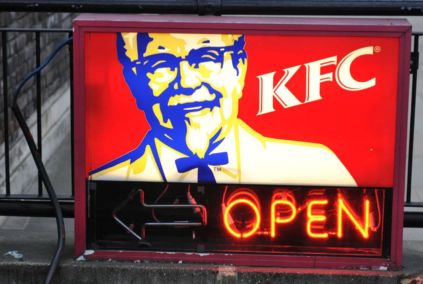 大阪にはケンタッキーフライドチキンの食べ放題ができる店舗があるという雑学