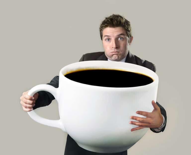 カフェイン中毒で死んでしまうコーヒーの量に関する雑学