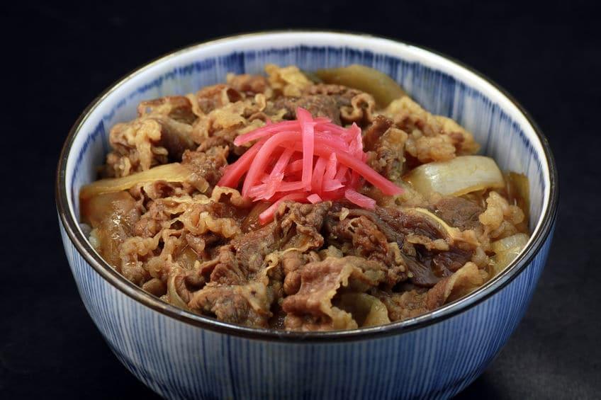 牛丼に紅生姜をつける理由とメリットに関する雑学