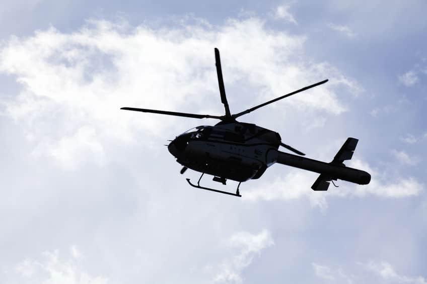 福島県警ヘリコプター事故…!臓器運搬中に墜落
