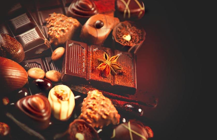 チョコレートの語源は「苦い水」という意味だったという雑学