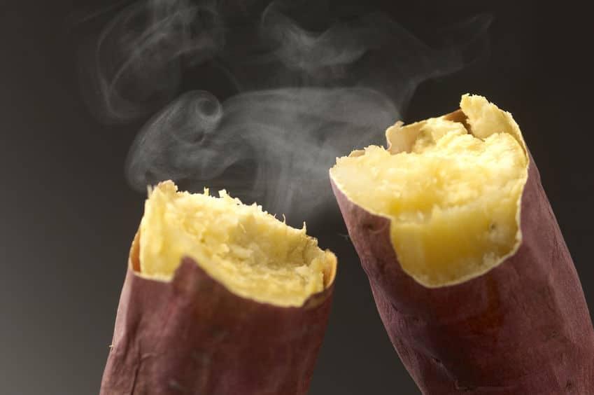 石焼き芋が甘い理由に関する雑学