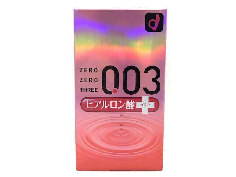 「オカモトゼロゼロスリー 0.03ミリ ヒアルロン酸」のコンドームレビュー