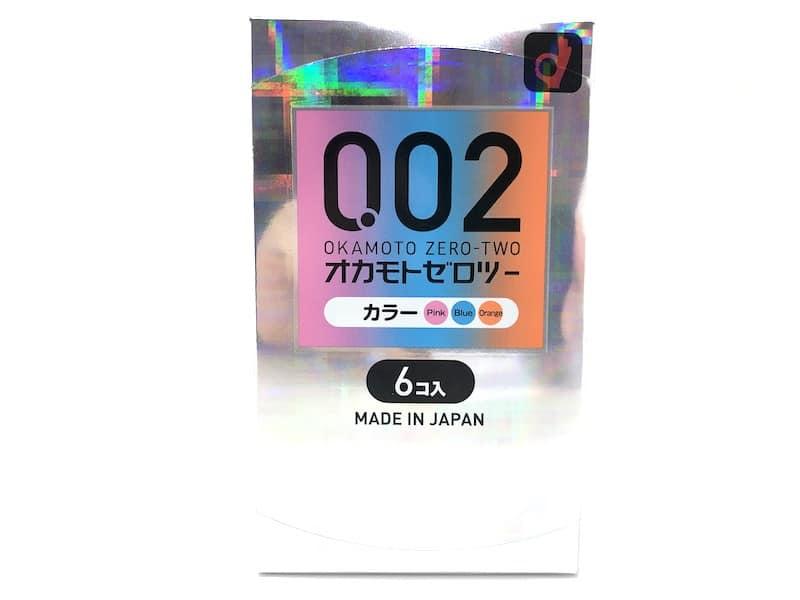 「オカモトゼロツー 0.02ミリ カラー」のコンドームレビュー