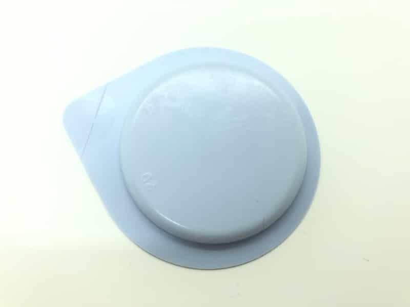 「サガミオリジナル002 Lサイズ」のコンドーム袋(裏)