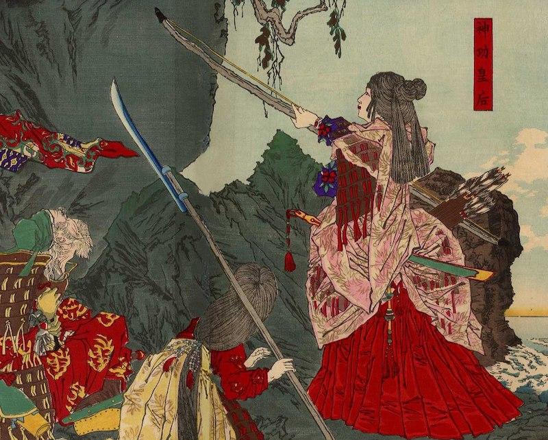日本の紙幣に初めて登場した女性は神功皇后という雑学